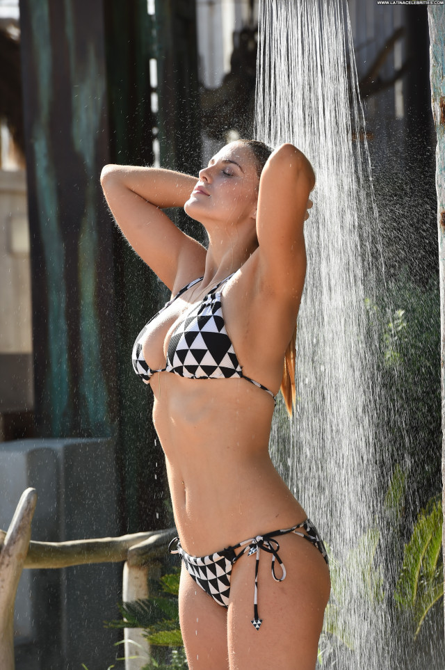 Ashley James Sexy Babe Celebrity Posing Hot Bikini Model Ibiza