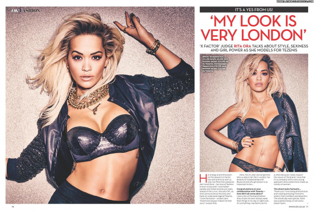 Rita Ora Singer Scans British Posing Hot Sexy Babe Beautiful Celebrity
