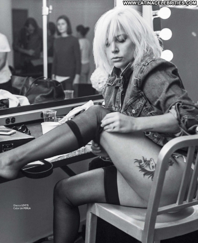 Lady Gaga Magazine Posing Hot Babe American Celebrity Beautiful Sexy