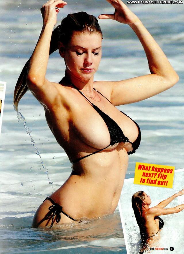Charlotte Mckinney Zoo Magazine Beautiful Bikini Babe American Scans