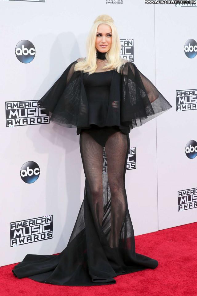 Gwen Stefani American Music Awards Awards Posing Hot Babe Beautiful