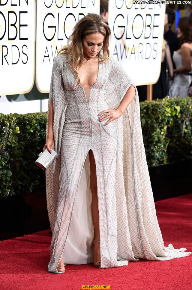 Jennifer Lopez Golden Globe Awards Cleavage Posing Hot Sexy Babe Sex
