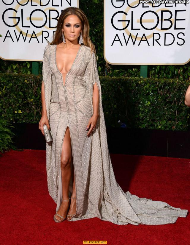 Jennifer Lopez Golden Globe Awards Sex Awards Posing Hot Cleavage
