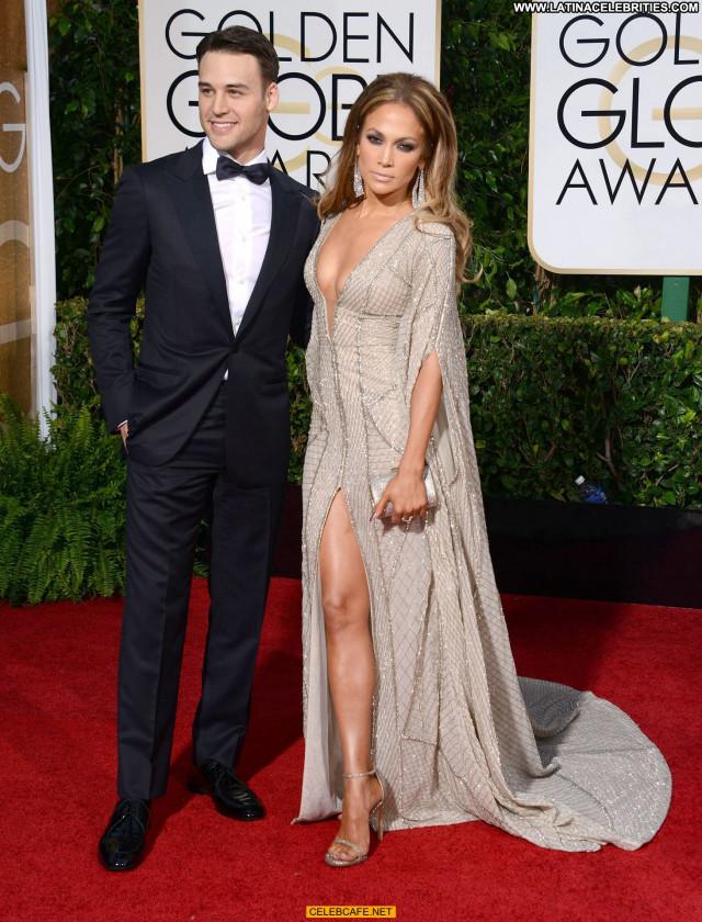 Jennifer Lopez Golden Globe Awards Sex Celebrity Babe Posing Hot Sexy