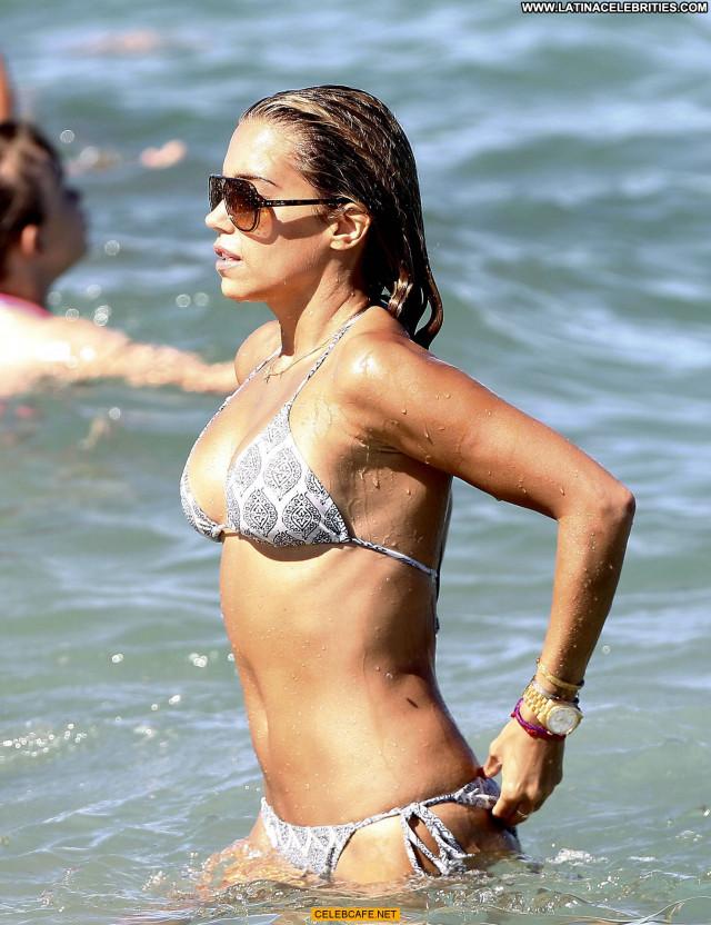 Sylvie Van Der Vaart No Source  Saint Tropez Celebrity Bikini Babe