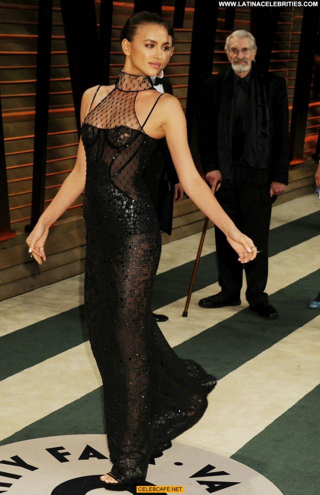Irina Shayk West Hollywood  Celebrity Party Areola Slip Babe