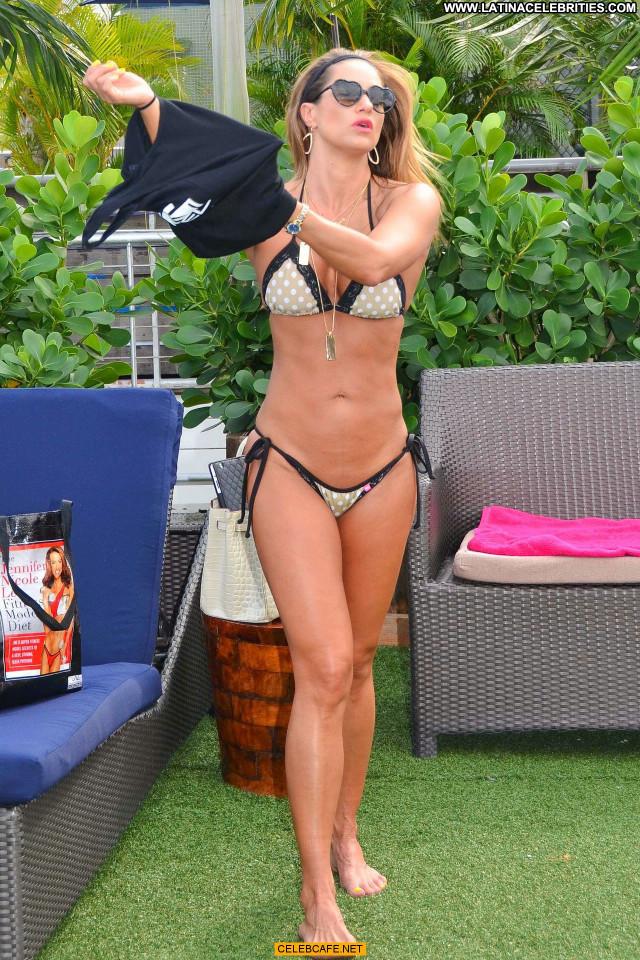 Jennifer Nicole Lee No Source Bikini Posing Hot Babe Celebrity