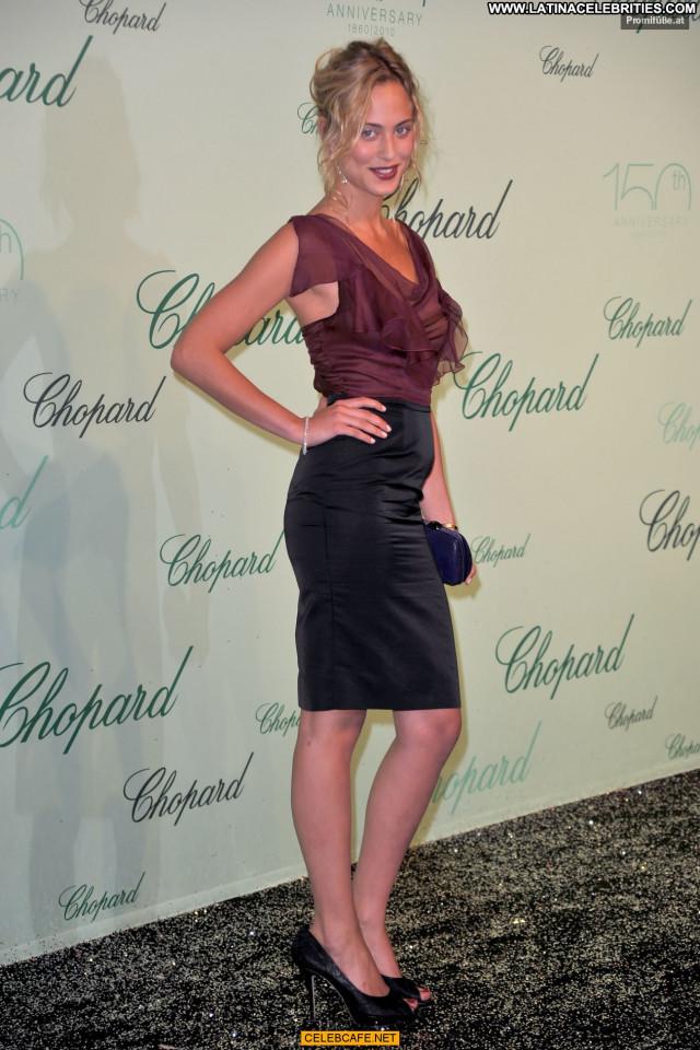 Nora Arnezeder Cannes Film Festival Celebrity Posing Hot See Through