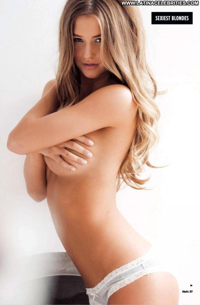 Danica Thrall Nuts Magazine Topless Perfect Babe British Big Tits