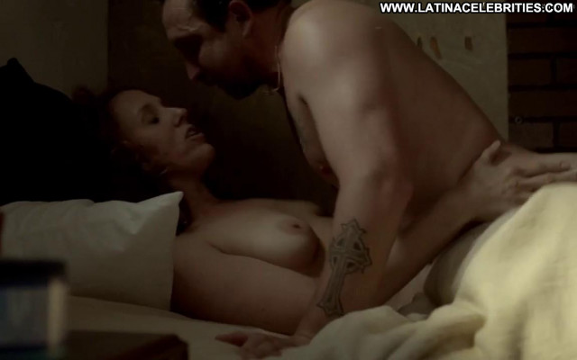 Brooke Smith Ray Donovan Beautiful Sex Topless Breasts Posing Hot Bed