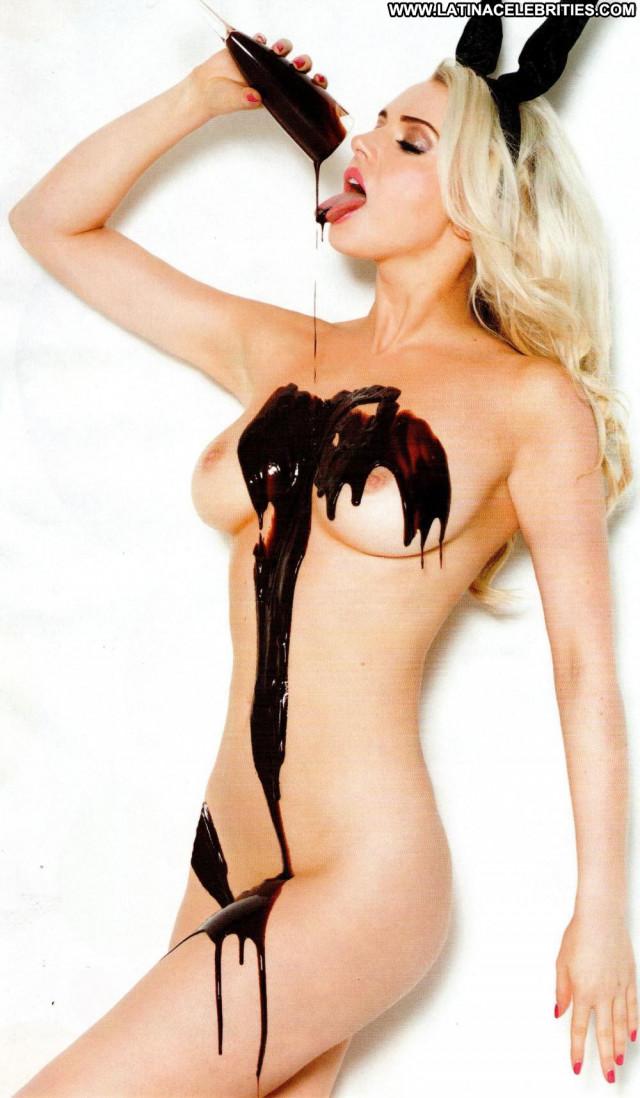 Emily O Hara No Source Bunny Stockings Toples Panties Breasts Posing