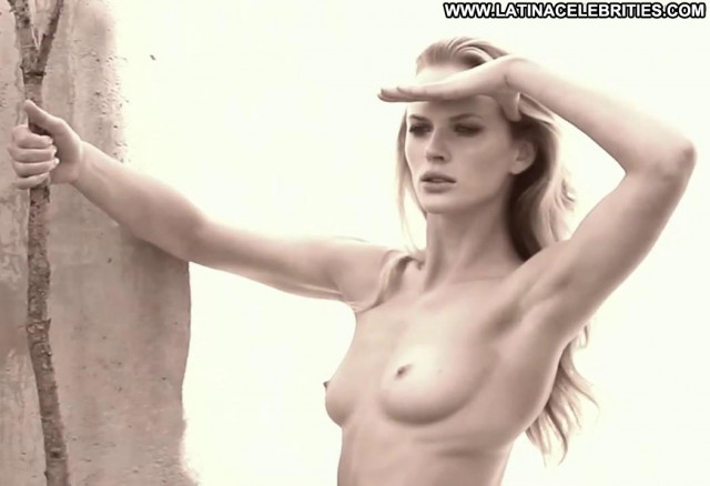 Anne Vyalitsyna Personal Project Happy Breasts Posing Hot Babe Black