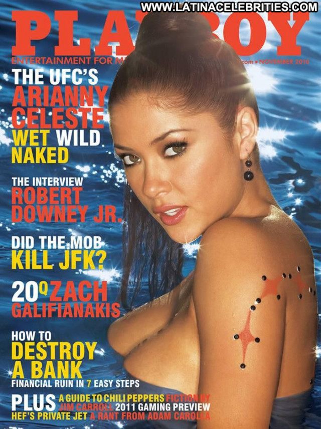 Arianny Celeste S Magazine Posing Hot Babe Beautiful Workout Bar