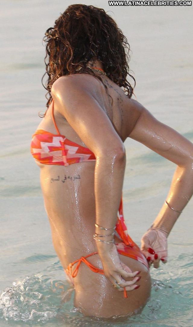 Rihanna The Weekend Posing Hot Wet Barbados Happy Beautiful Bar Babe