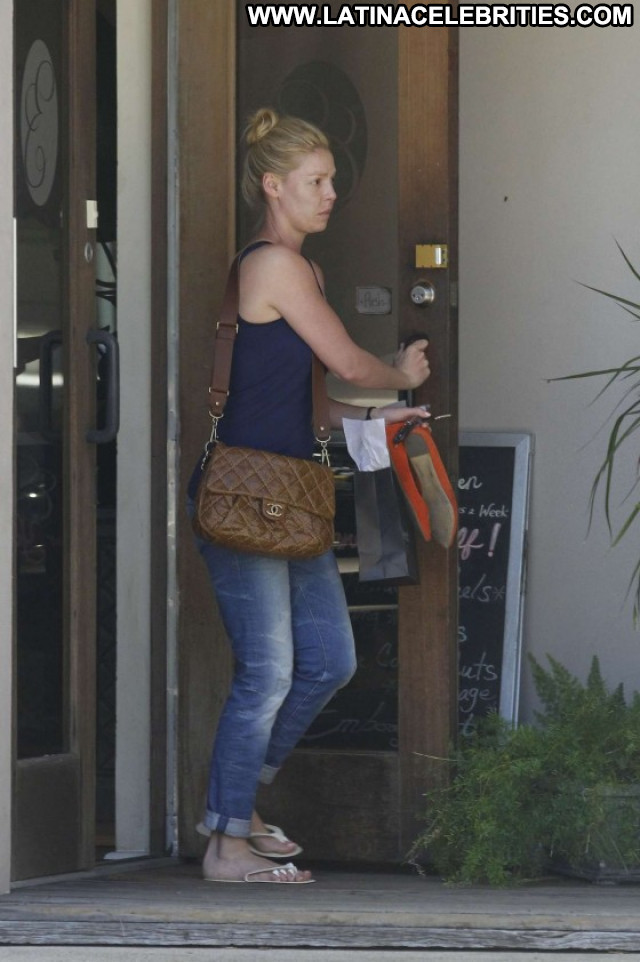 Katherine Heigl No Source Celebrity Posing Hot Spa Paparazzi Babe
