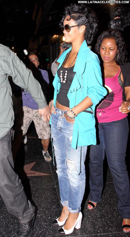 Rihanna Los Angeles Beautiful Paparazzi Babe Los Angeles Posing Hot
