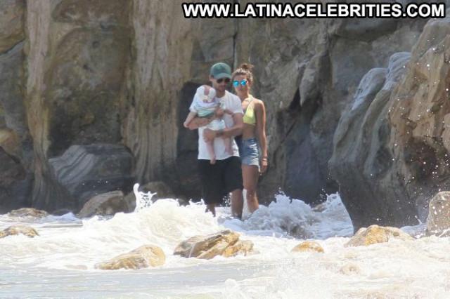 Danielle Campbell Babe Celebrity Beautiful Malibu Bikini Beach