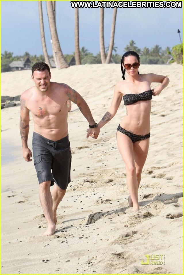 Megan Fox Babe Candid Celebrity Bikini Beautiful Candids Paparazzi