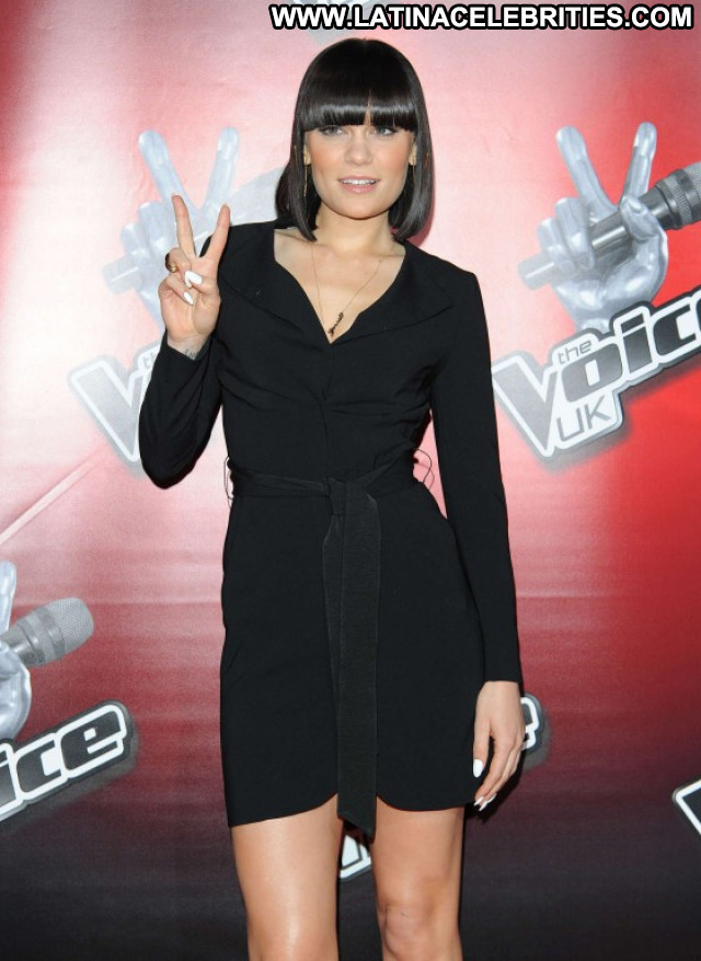Jessie J The Voice Paparazzi Babe London Celebrity Beautiful Posing
