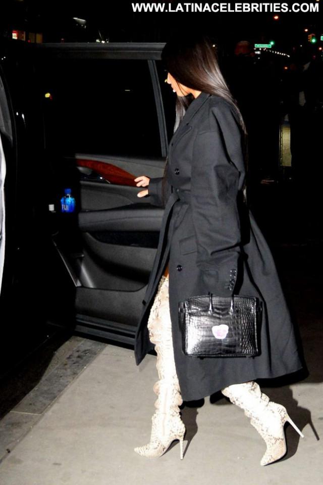 Kim Kardashian New York Paparazzi New York Celebrity Beautiful Boots