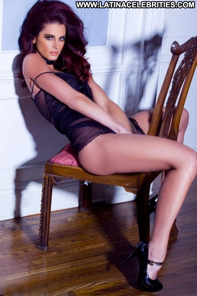 Cara Rose Night Shift Lingerie Beautiful Posing Hot Model Celebrity