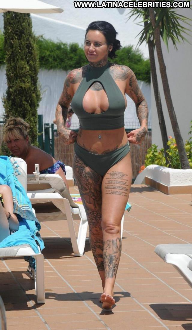 Allie Goertz Anna Nicole Sexy Hot Bar Toples Summer Celebrity Park