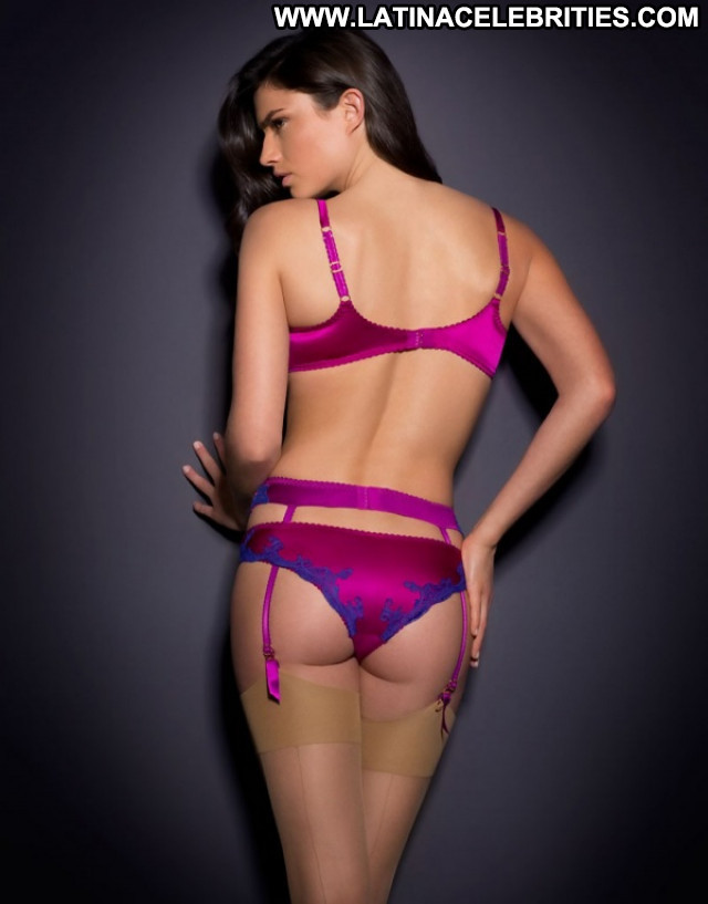 Nicole Harrison No Source Lingerie Posing Hot Hot Brunette Australian