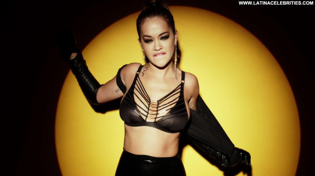 Rita Ora Topless Photoshoot Actress Babe Toples Los Angeles Posing