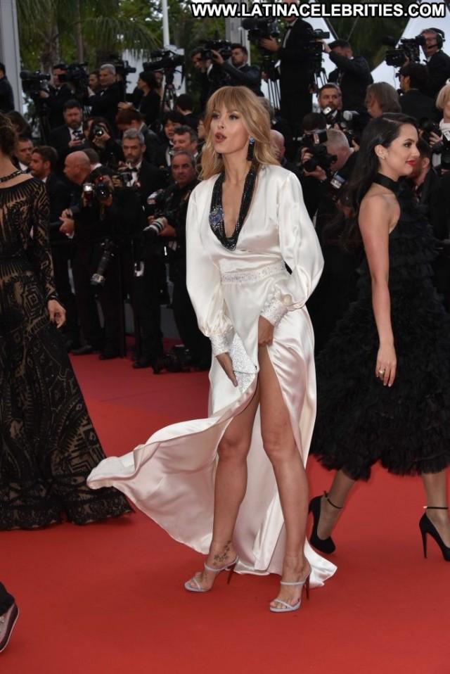 Abymonsta Cannes Film Festival Beautiful Bra Black Upskirt Park