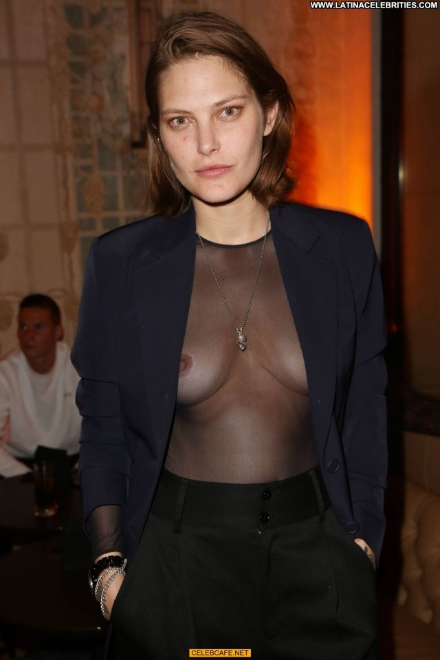 Catherine Mcneil No Source See Through Braless Babe Posing Hot