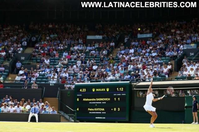 Petra Kvitova No Source Paparazzi Celebrity Posing Hot Babe Tennis