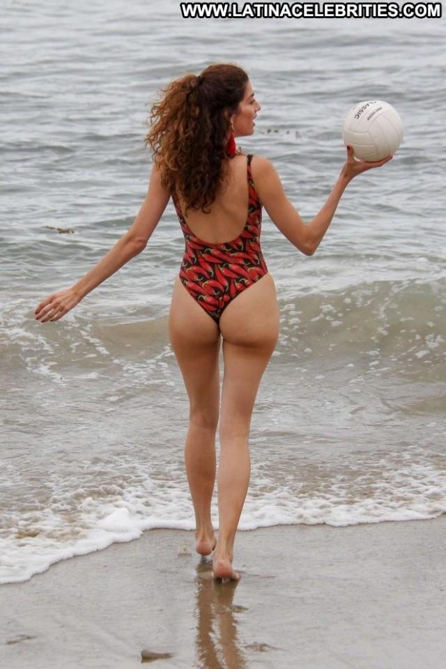 Blanca Blanco No Source Mali Swimsuit Beautiful Beach Posing Hot