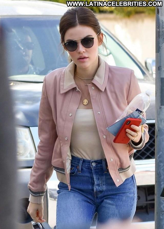 Lucy Hale Studio City Posing Hot Babe Paparazzi Beautiful Celebrity