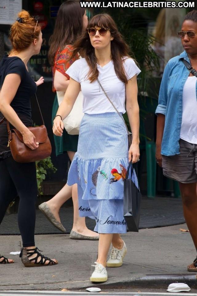 Jessica Biel No Source Celebrity Babe Paparazzi Posing Hot Beautiful