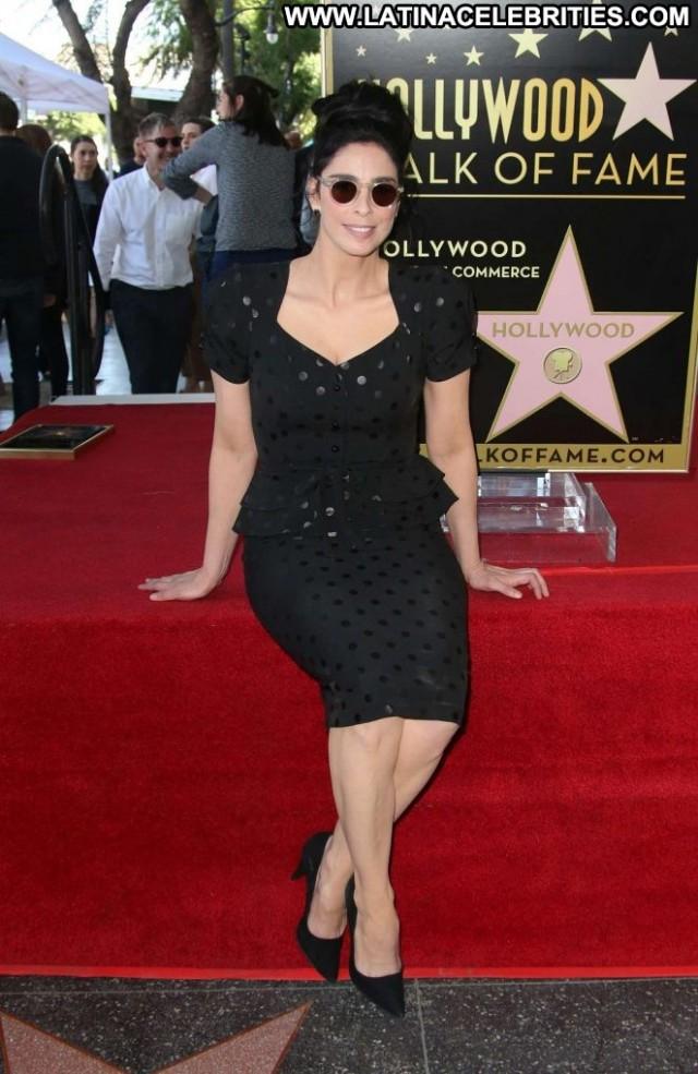 Sarah Silverman Hollywood Walk Of Fame Paparazzi Babe Celebrity