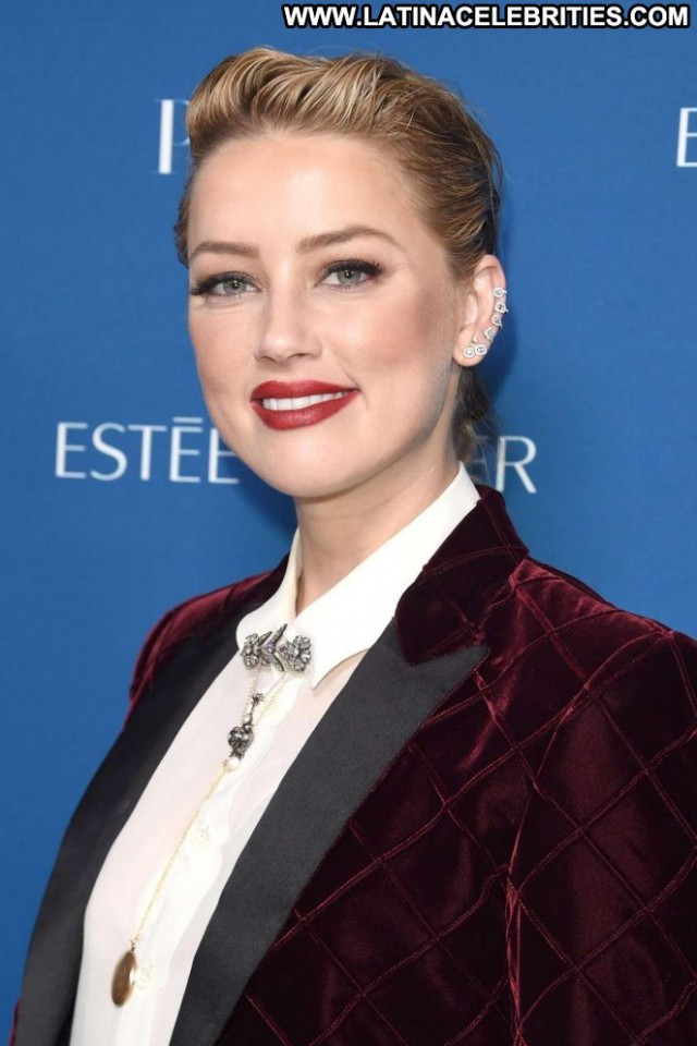 Amber Heard No Source Babe Posing Hot Beautiful Paparazzi Celebrity