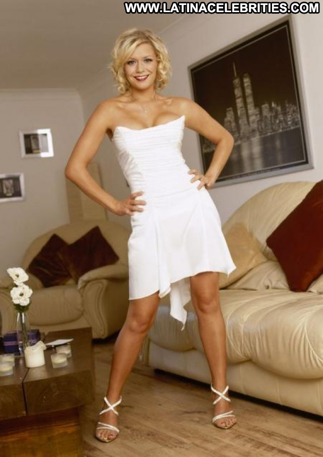 Suzanne Shaw The Band Dancing Singer Beautiful Model Famous Posing