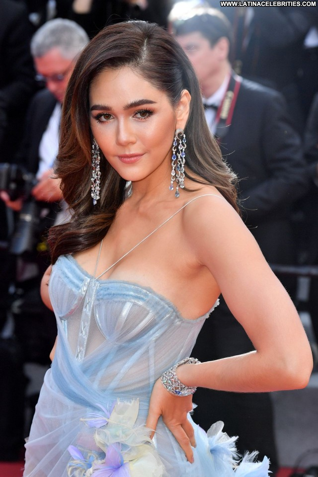 Araya A Hargate Cannes Film Festival Red Carpet Beautiful Crazy Babe
